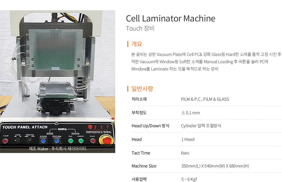 Touch Panel Attache Lami